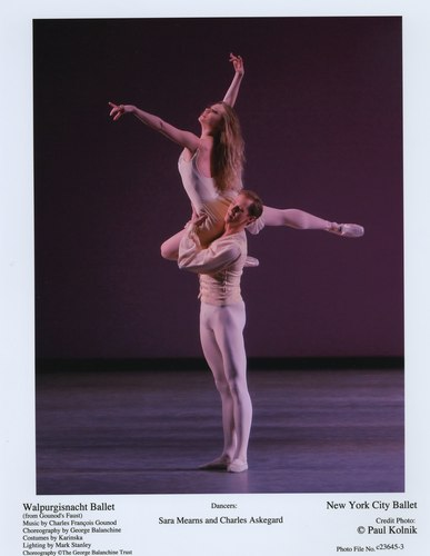 Sara Mearns and Charles Askegard in NYCB's Walpurgisnacht Ballet
