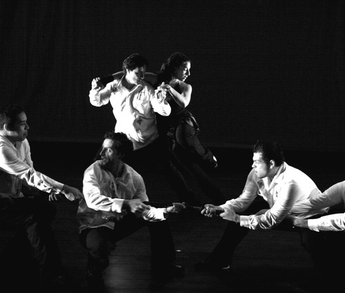 contra-tiempo uses salsa as a metaphor for resistance and struggle