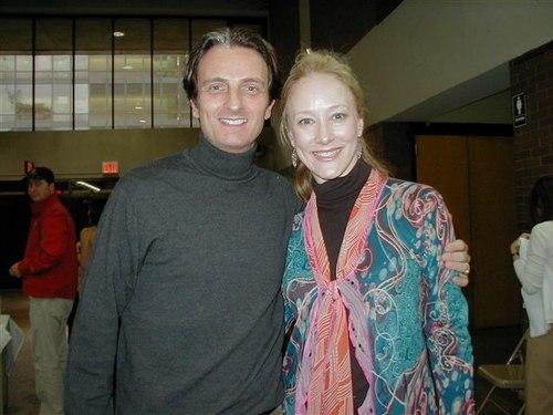 Francois Perron, Managing Artistic Director, and Deborah Wingert, Teacher and Choreographer