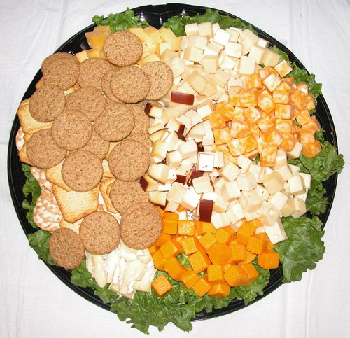 Cheese and Crackers Platter from Ernest Klein &amp; Co. International Supermarket (<a href='http://www.ernestklein.net'>www.ErnestKlein.net</a>) donated by ExploreDance.com