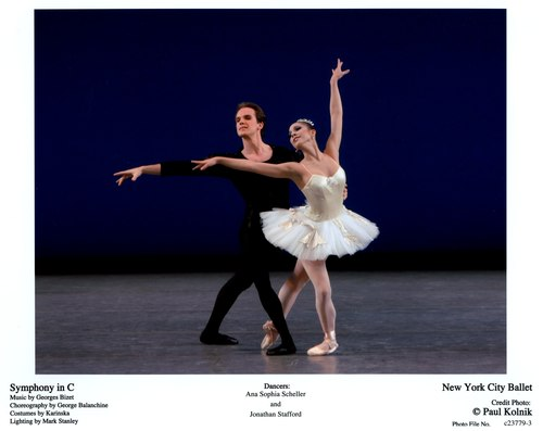 Ana Sophia Scheller and Jonathan Stafford in 'Symphony in C'