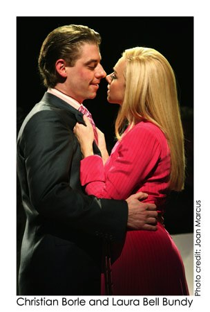 Christian Borle and Laura Bell Bundy