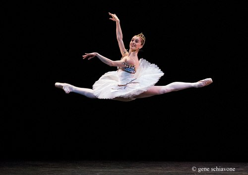 Marianela Nunez (The Royal Ballet) performing at YAGP 2007 Gala at NY City Center. Photo by Gene Schiavone.
