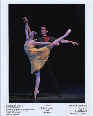 Kathryn Morgan and Seth Orza in 'Carousel (A Dance)'