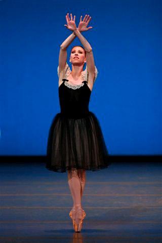 Kyra Nichols in 'Mozartiana'
