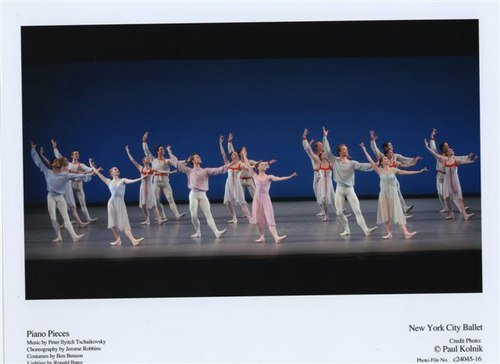 NYCB's Ensemble performs 'Piano Pieces'