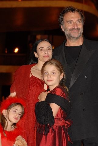 Alessandra Ferri and Her Family