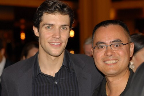 Roberto Bolle and Tommy Ng