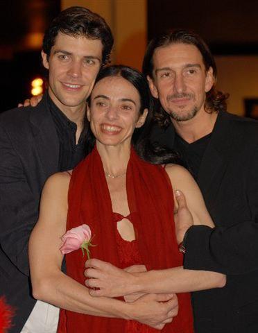 Roberto Bolle, Alessandra Ferri, Julio Bocca