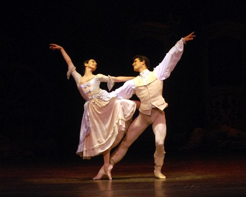 ABT's Alessandra Ferri and Roberto Bolle in 'Manon'