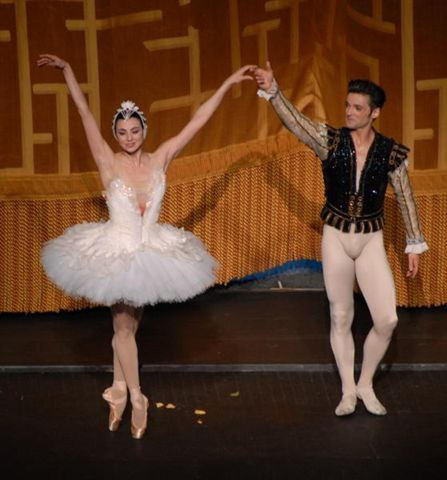 Nina Ananiashvili and Angel Corella at the Late Curtain Call