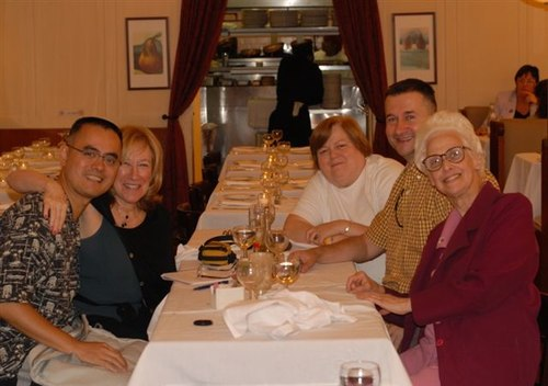 Tommy, Roberta, Marianne, Adam, Lois