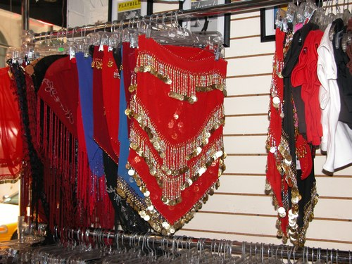 Red Belly Dance Skirt