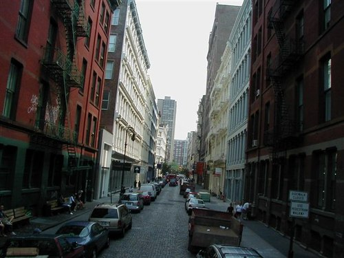 Cobblestone Street in Soho
