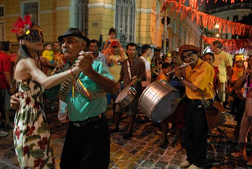 Carnaval in Recife, Brazil