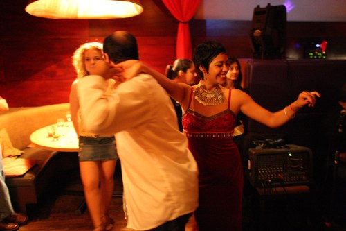 Talia dances at Taj Camera: ISO 6400, 1/30, 1.4