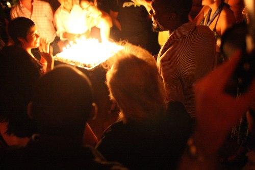 Talia's birthday cake Camera: ISO 6400, 1/60, 1.4