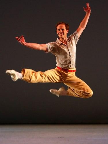 Pennsylvania Ballet's Matthew Neenan in <i>Company B</i>