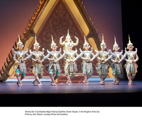 Pamina Devi: A Cambodian Magic Flute. By Sophiline Cheam Shapiro. In The Kingdom of the Sun. Courtesy Khmer Arts Academy.
