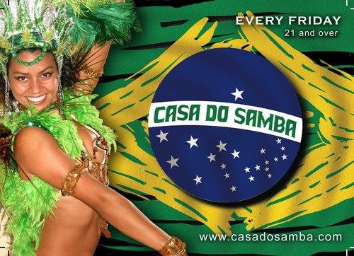 Casa do Samba Flyer