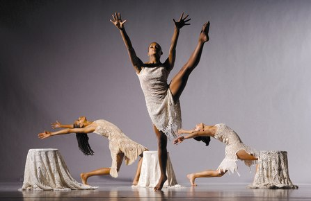 Blues Suite By Alvin Ailey Ailey II company members