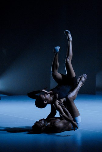 Adam Hougland's 'Risk of Flight' Dancers: Meredith Rainey (bottom) and Heidi Cruz-Austin