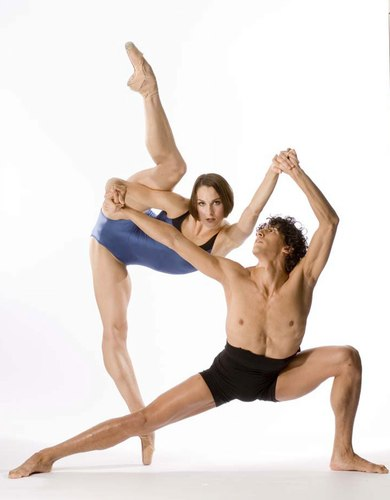 Drew Jacoby and Juan Rodriguez of Complexions