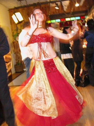 Belly Dancing at Versani