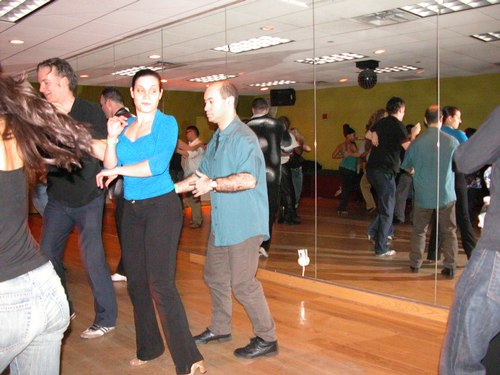 Salsa at Club 412's Havana Nights