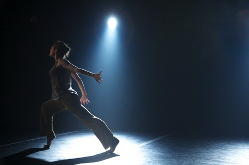 'Ten Duets on a Theme of Rescue' by Crystal Pite. Dancer: Jessica Coleman Scott