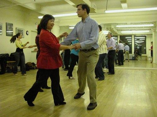 John Festa teaches West Coast Swing at Dance Manhattan