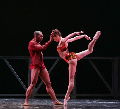 Desmond Richardson & Diana Vishneva in Three Point Turn