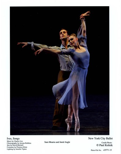 Sara Mearns and Jared Angle in NYCB's 'Ives, Songs'