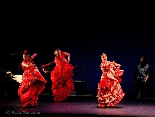 Belen Maya, Merche Esmeralda, and Rocio Molina in CARACOLES Flamenco Festival 2008