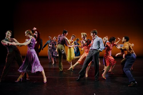 Donald McKayle's Hey-Hay, Going to Kansas City Kansas City Ballet Dancers