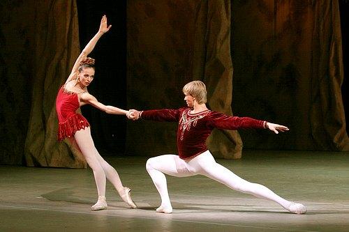 Diana Vishneva & Andrian Fadeev, Rubies (from Jewels)