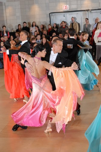 The Big Apple Dancesport Challenge Columbia University Ballroom Dance Team Session 13 International Prechampionship Standard