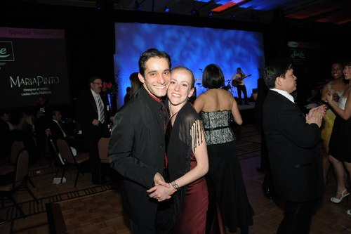 HSDC dancers Pablo Piantino and Penny Saunders on the dance floor