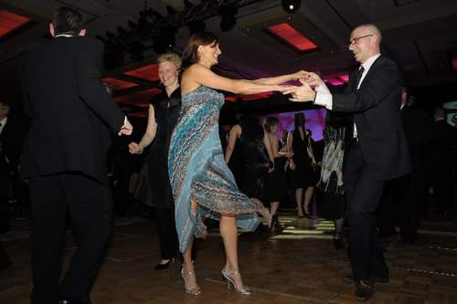 Stephanie Martinez dances with former HSDC dancer Massimo Pacilli