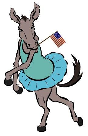 Ballet Donkey in Tendu Back