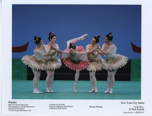 New York City Ballet's Wendy Whelan in Bugaku