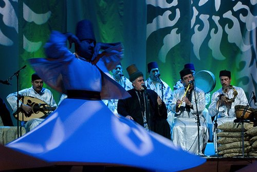 Sufi Dancing at A Mystical Journey
