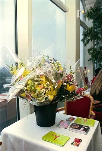 Flowers for the performers from <a href='http://www.florists.ftd.com/matles/'>Matles Florist</a>