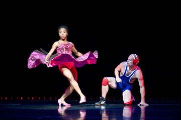 Chanel DaSilva and Jason Hartley in 'Surrender' at Jacob's Pillow