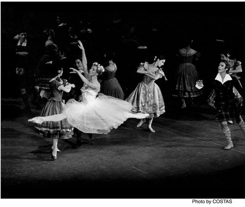 Natalia Makarova and Ivan Nagy, in American Ballet Theater's 'La Sylphide' Makarova has frequently coached and staged classics.