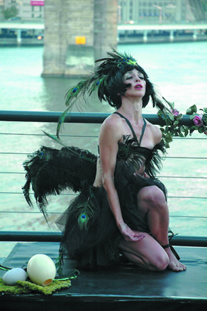 Celeste Hastings in 'Hesperornis Regalis'