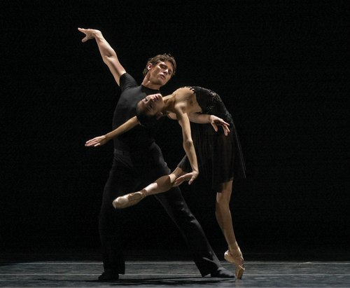 Members of San Francisco Ballet perform 'Seven for Eights'