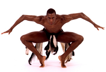 Dayton Contemporary Dance Company 'Awassa Astrige/Ostrich' Dancer: G.D. Harris