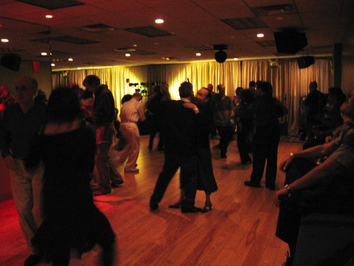 The Swing room floor was always well populated