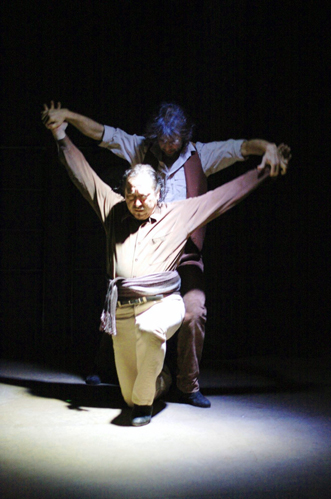 Jorge Navarro and Antonio Hidalgo in 'Los Mineros'
